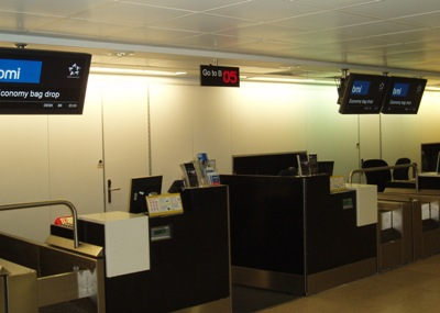 Airport-check-in-signs