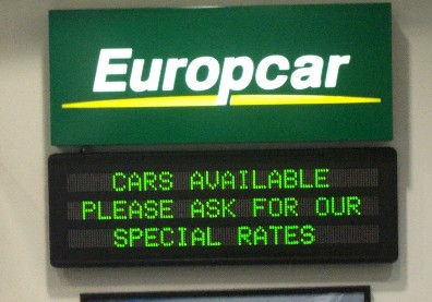 Multi-line-LED-display-ML302-20-Green-Europcar