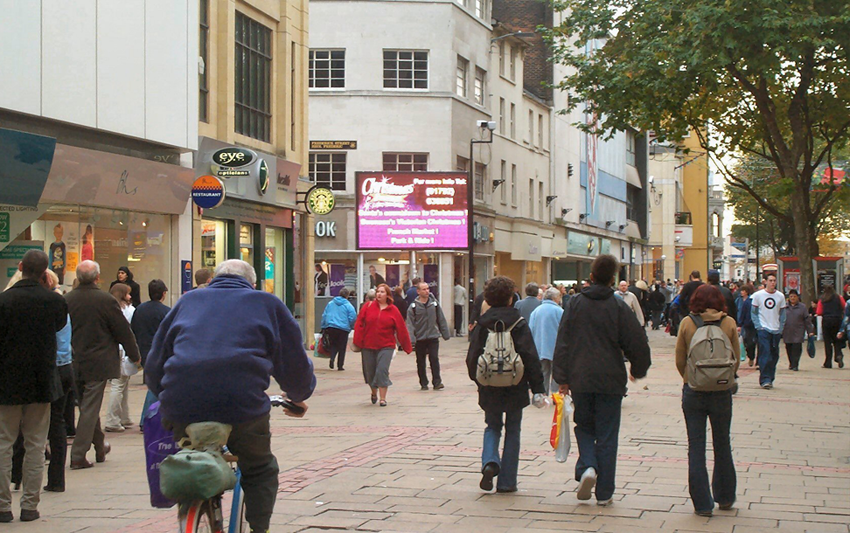 Town Centre Screen
